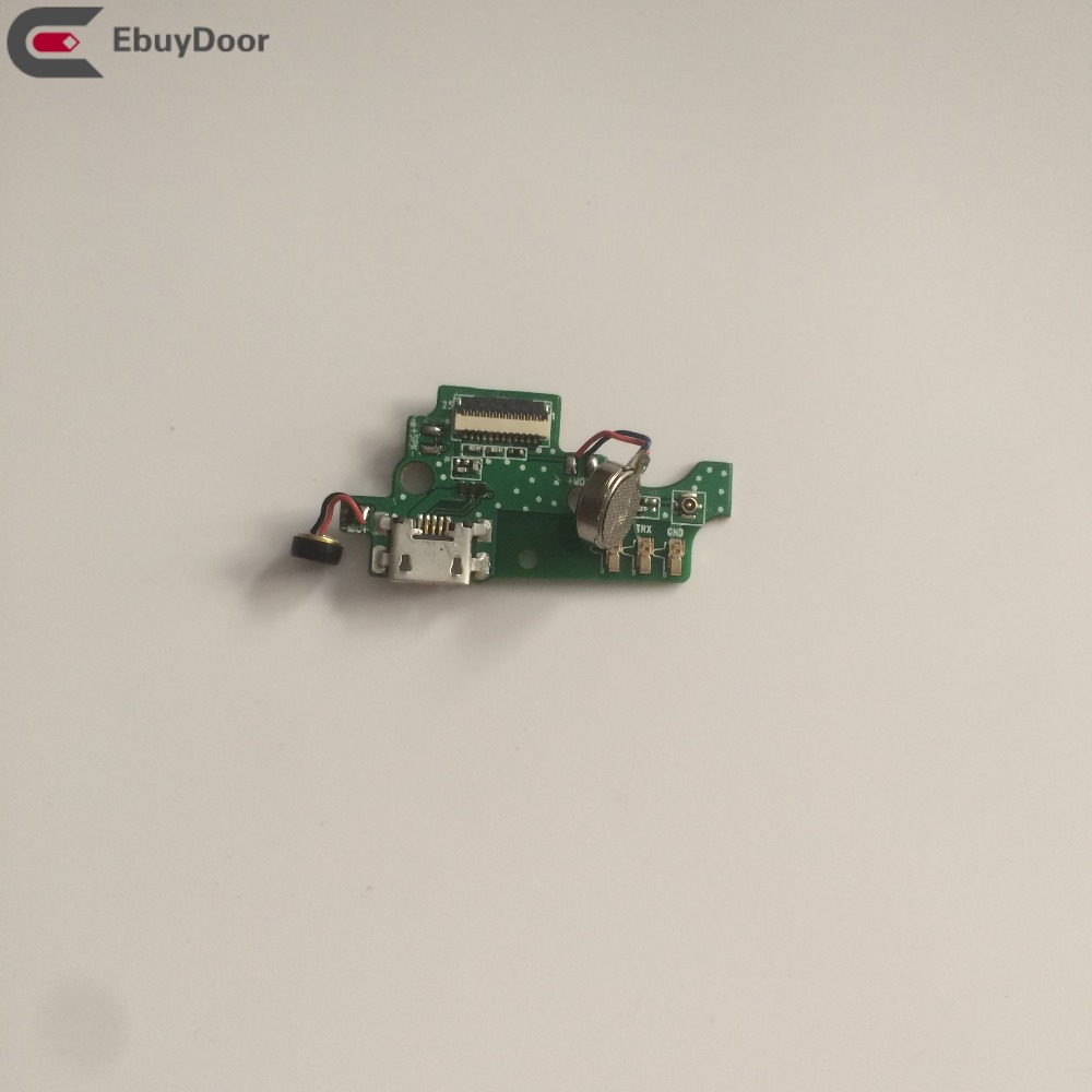 Used USB Plug Charge Board + Vibration Motor For Homtom HT7 MTK6580 Quad Core 5.5 Inch HD 1280x720 Free Shipping motor for motor motorboard board - title=
