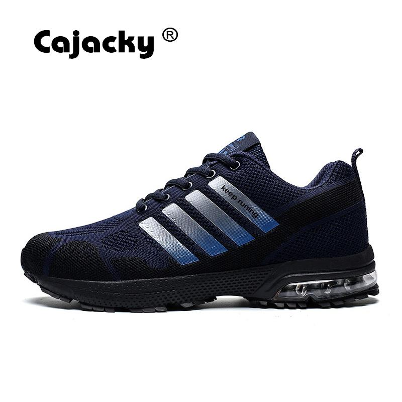 Cajacky Men Sneakers Running Plus Size 36-47 Unisex Air Mesh Jogging Shoes Outdoor Trainers Shoes Lightweight Zapatillas Hombre 3