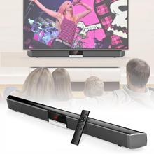 Home Theater Wireless Subwoofer Bluetooth Soundbar Speaker with 4pcs 52mm Full Frequency Horn +2pcs 50120 Bass Unit for TV PC