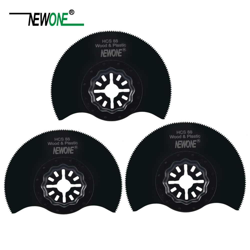 NEWONE 88mm High-Speed Segmented Saw Blades Starlock Blades for Power Oscillating Tools for Cut Ceramic Tile Wood Working