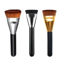 1 Pcs Professional Cosmetic Flat Contour Brush Big Face Blend Makeup Brush
