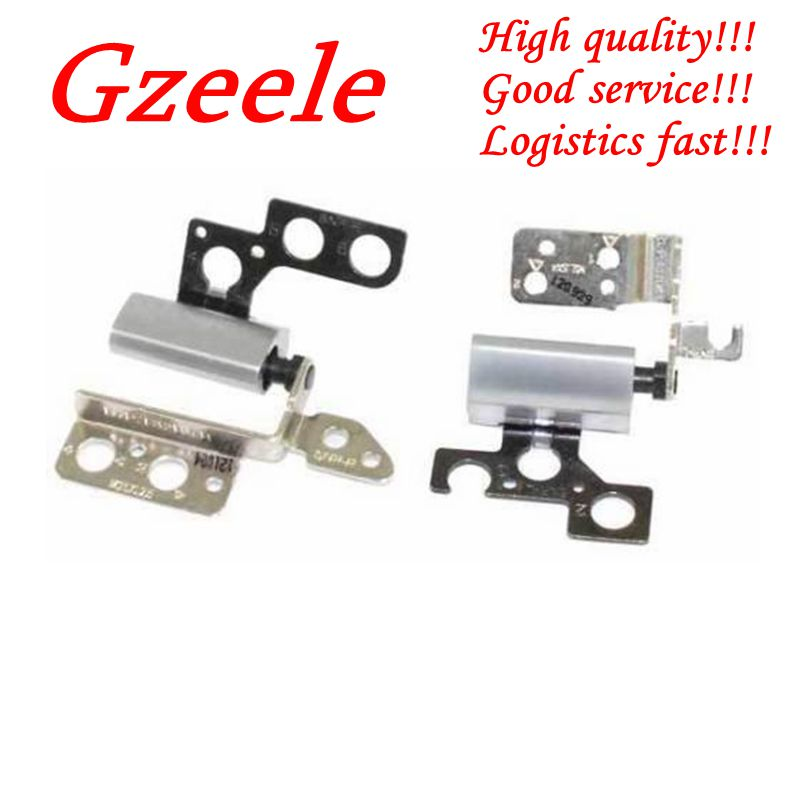 GZEELE NEW For Dell Inspiron 14Z 5423 14Z-5423 Laptop LCD Hinges Hinge L+R A Pair