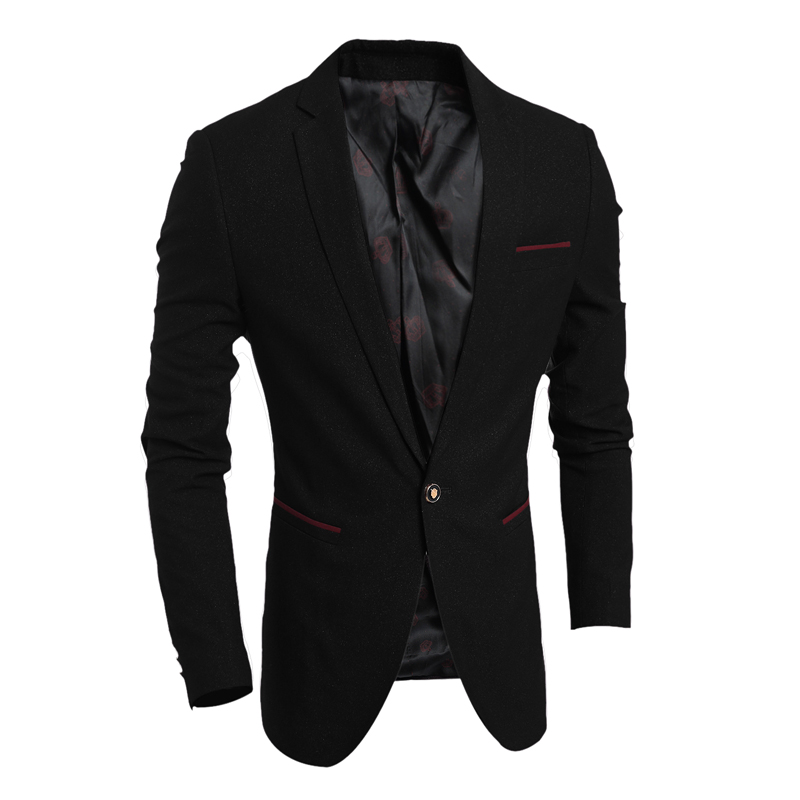 Popular Mens Black Suit Jacket-Buy Cheap Mens Black Suit Jacket