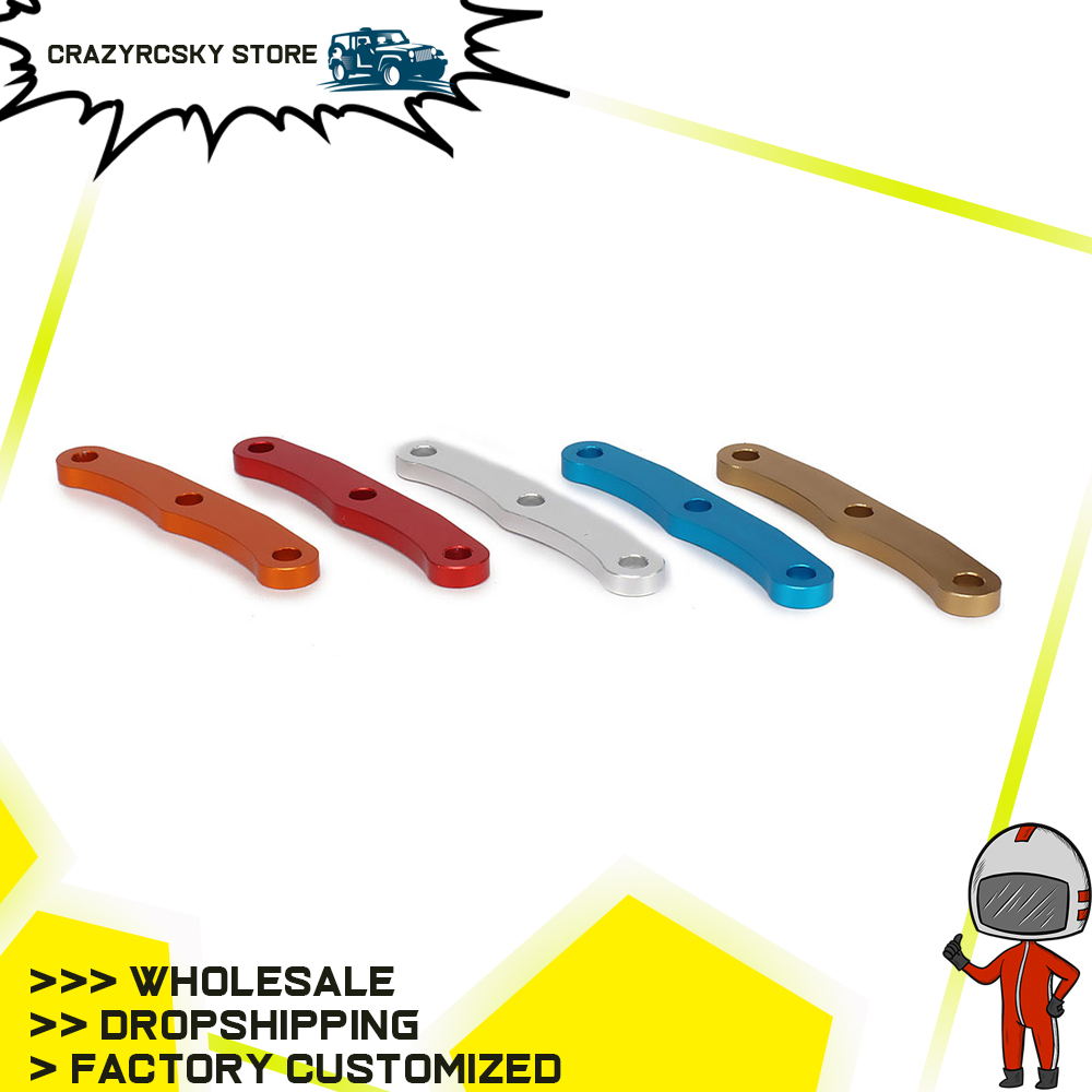 Alloy Aluminum Front Bulkhead Tie Bars Arm Brace 6823 for rc 1/10 traxxas slash 5807 1pc 4X4 upgraded Hop-up Parts machined