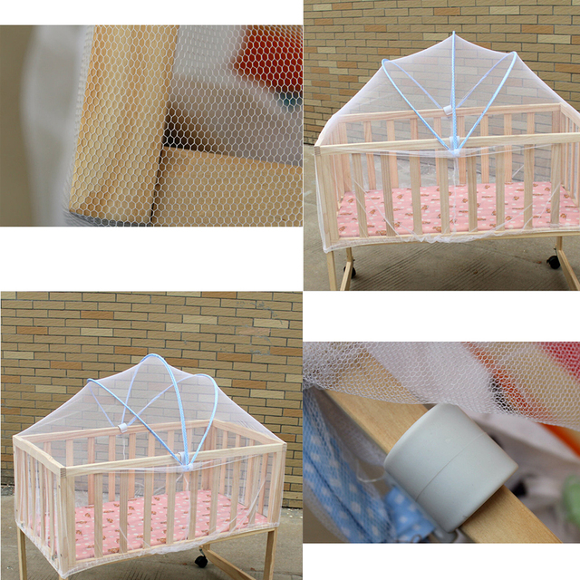 Hot Summer Portable Baby Crib Mosquito Net Multi Function Cradle Bed Canopy Netting Easy Install Protect & Hot Summer Portable Baby Crib Mosquito Net Multi Function Cradle ...
