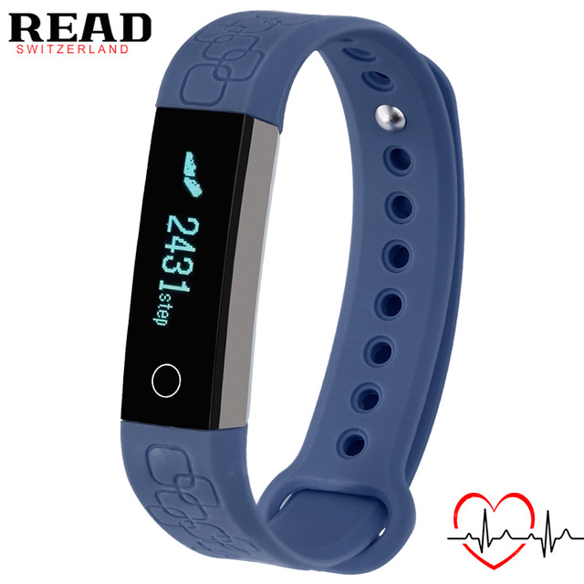 Спорт Smart Watch Мужчины Браслет для Apple Android Сигнализация Монитор Сердечного ритма Запястье Умный Bluetooth Сна Tracke READ R3