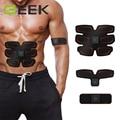 Deixe o Homem Mais Forte C Lo SIXPAD Inteligente Homens Mulheres Cinto de Plástico Equipamentos de Ginástica Abdominal Moldar Os Músculos Treinamento Muscular Abdominal