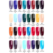 Womens Exquisite Nail Design Mixed Gel Polish Gorgeous Waterproof Coatings Multiple Colors Deluxe Poland