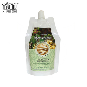 XI FEI SHI Plus New Professional Ginseng Shampoo Hair Growth And Nourishing Chinese Herbal Ginseng Root Shampoo Hair Care 500ML