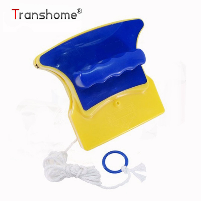 Transhome Double Side Magnetic Cleaning Brush Easy Handle Double Magnet Window Brushes Household Cleaning Tools Accessories