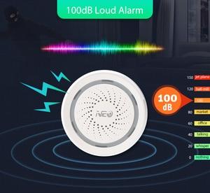Image 5 - Tuya Smart Life Wireless WiFi Siren Alarm Sensor Sound and Light Alarm Siren Support IFTTT for Home Security