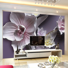 3D Stereo Relief Flowers Mural Wallpaper Living Room TV Sofa Background Wall Covering Classic Floral Home Decor Papel De Parede custom 3d stereo relief flowers mural photo wallpaper bedroom living room tv sofa backdrop wall mural home decor 3d panel wall