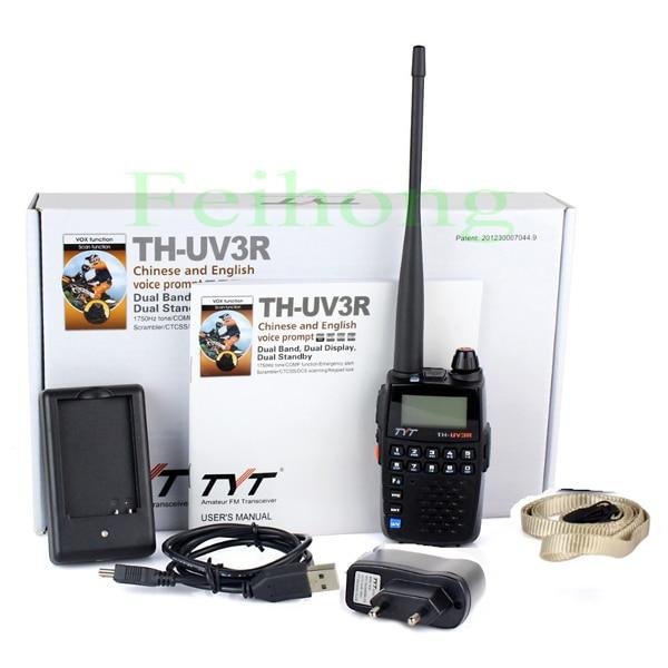 New arrival mini dual band  UHF & VHF TYT TH-UV3R two way radio walkie talkieNew arrival mini dual band  UHF & VHF TYT TH-UV3R two way radio walkie talkie