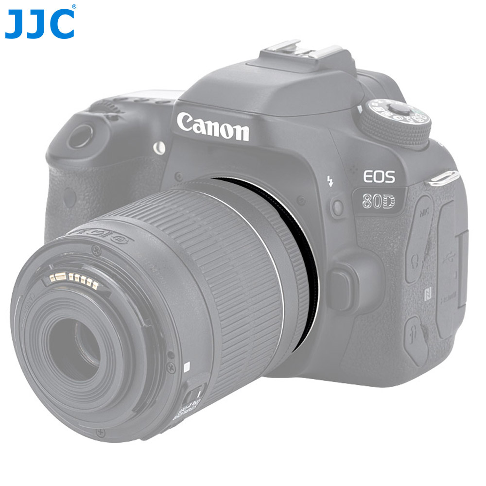 JJC RR-EOS 49mm Macro Reverse Ring Camera Mount Adapter for Using Canon EOS 70D 60D 7D 6D 5D Mark II III 700D 650D 600D 550D 500D Camera and Lens with 49mm Filter Thread