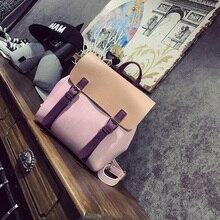 LEFTSIDE Fashion D Color Vintage Backpack PU Leather Women Backpack Schoolbag Feminine backpack for girl Small