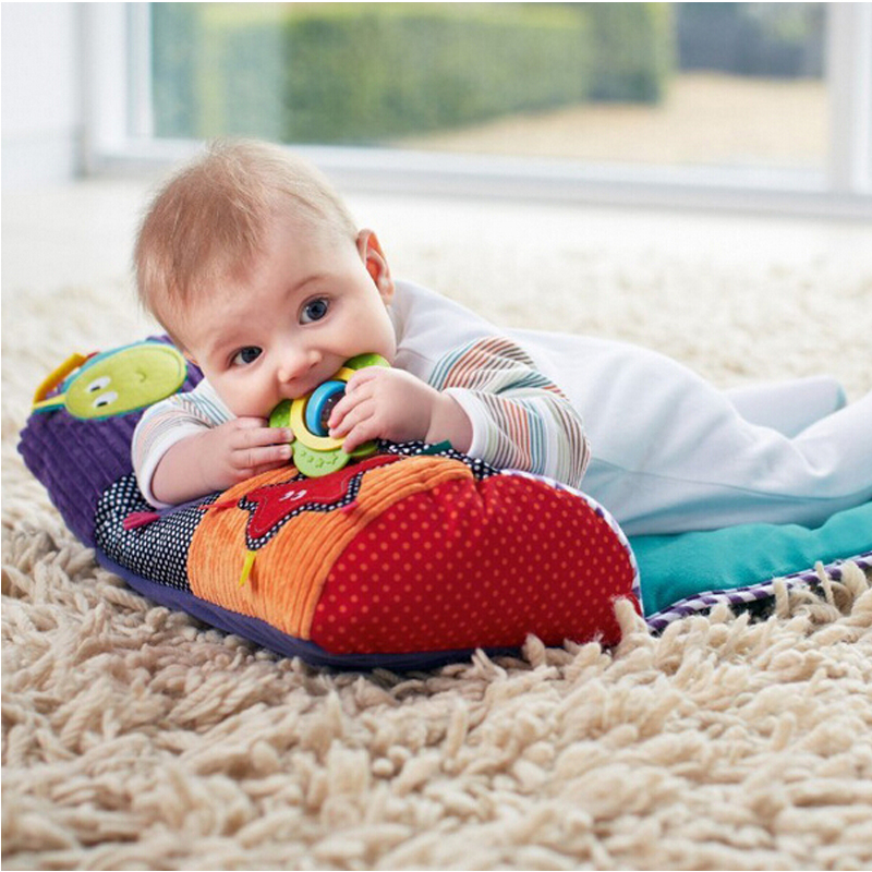 Newborn Early Educational Multifunctional Pillow Climbing Mats Toys for Baby 0-12 Months Infant Activity Blanket Sleeping Pad
