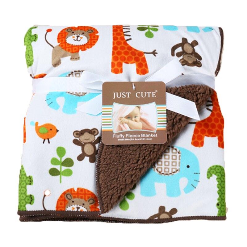 Summer Cotton Flannel Baby Blanket Comfort Newborns blankets Baby Beds Envelop Swaddles Brap Double Room Air Conditioning