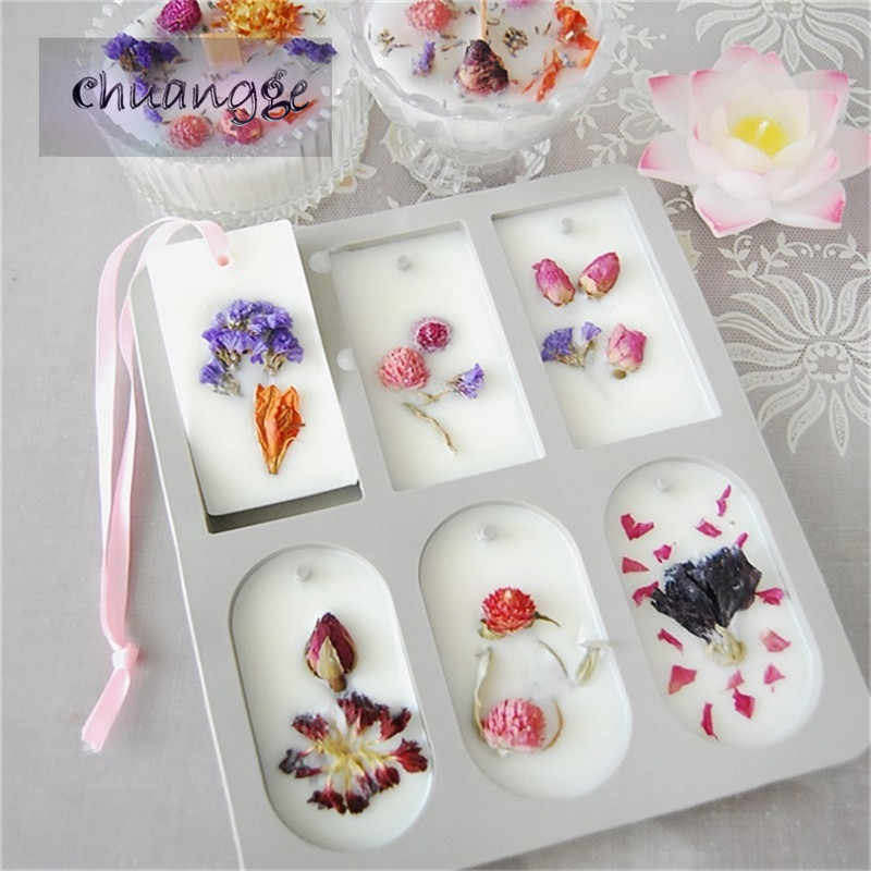 DIY Aromatherapy Wax Silicone Mold Super Popular Personalized Gifts Flower Ornaments Wax Mold Soap Candle Mold DIY Clay Crafts