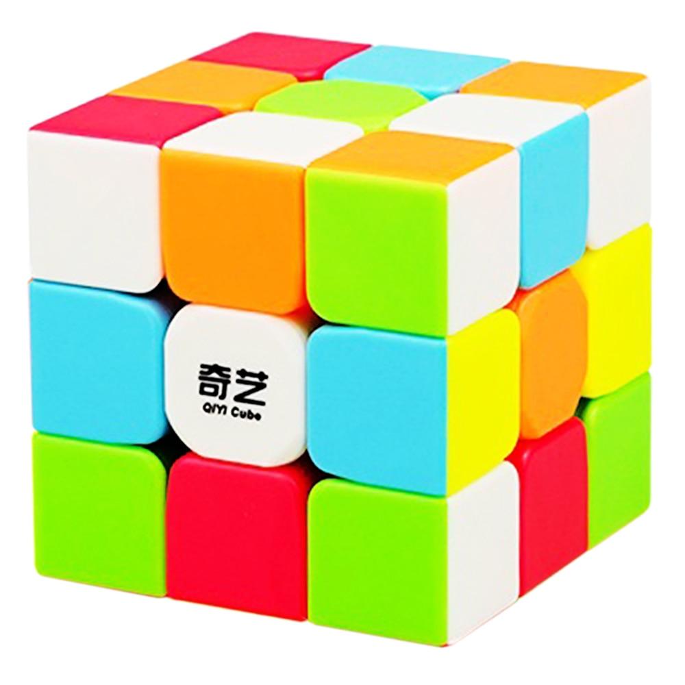 3x3x3 QiYi Warrior W Professional 3 Layers Magic Rubic Rubix Cube 3*3*3 Speed Puzzle Neo Cube Anti-stress 5.7CM Cubo Magico