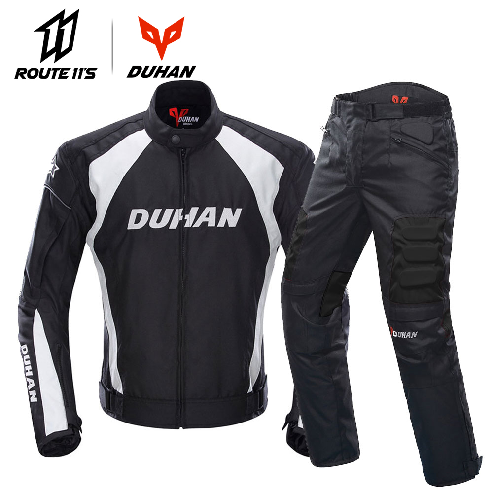 DUHAN vestes de Moto Motocross veste de course tout-terrain Moto Protection Moto veste Moto coupe-vent équipement de Protection