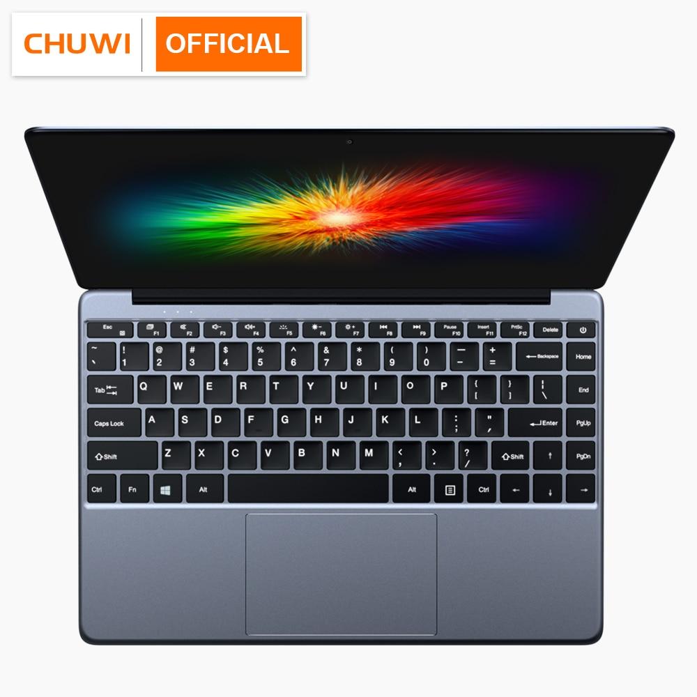 CHUWI Lapbook SE 13,3 pulgadas Window10 Intel Gemini-Lake N4100 Ordenador portatil con Teclado retroiluminado RAM 4GB ROM 160GB Ultra portátil