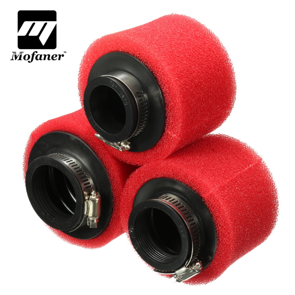 Racing Motorcycle Scooter Bike Dirt Pit <font><b>Air</b></font> <font><b>Filter</b></font> ATV For GY6 50cc 35 42 <font><b>48mm</b></font> image