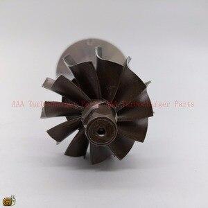 Image 3 - K03 Turbine rad 37,8x45mm, Compr rad 36,6x51mm, K03 Turbo teil/überholsätze rotor in montage lieferant AAA Turbolader Teile