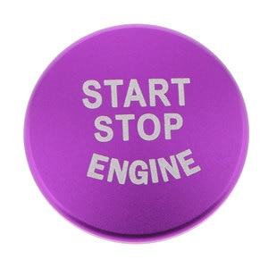Image 5 - 1 قطعة محرك السيارة بدء زر استبدال غطاء وقف التبديل اكسسوارات لسيارات BMW 1 2 3 4 سلسلة F30 F20 F32 X1 F48 F45 الخ الألومنيوم