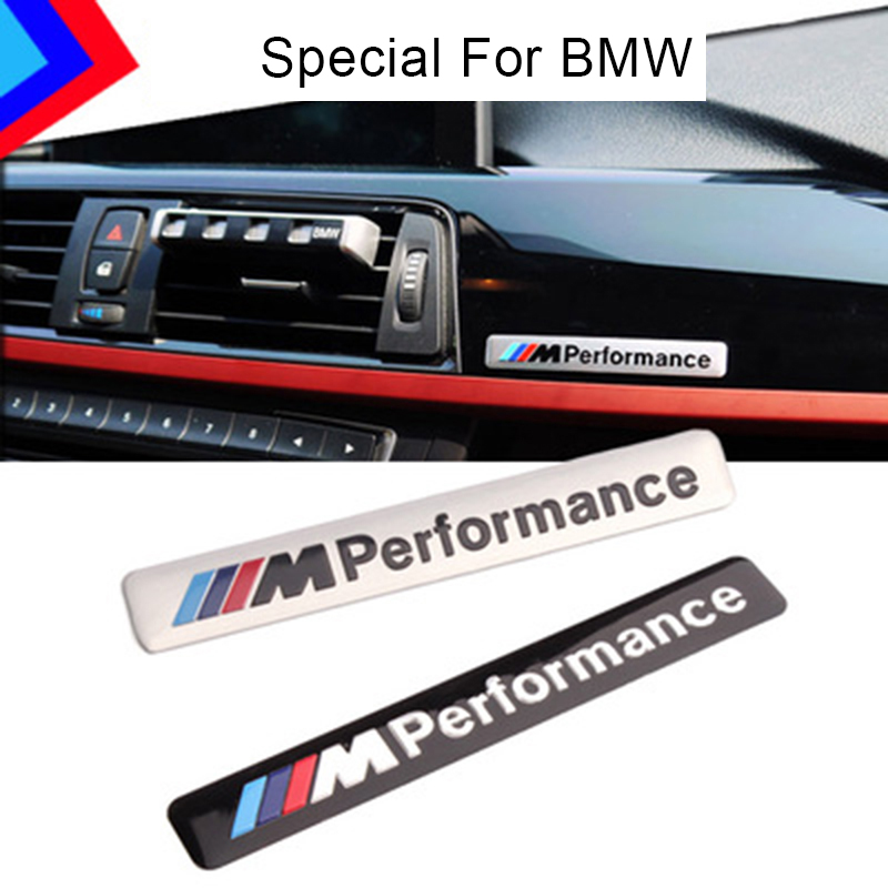 M Performance Metal Logo Car Sticker For BMW E46 E39 E90 E60 E36 F30 E34 F10 F20 E30 X5 E53 X1 G30 E87 E91 X3 F25 X6 E38 M M3 M5 cool car auto decoration badge stickers m logo metal 3d car sticker for bmw m3 m5 x1 x3 x5 x6 e36 e39 e46 e30 e60 e92 all model