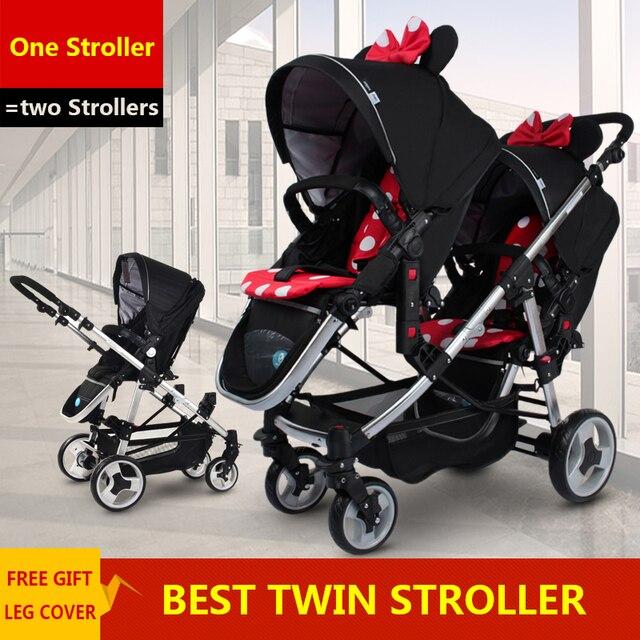 Прогулочная Коляска Для Младенцев-Двойняшек, Двойные Коляски Легкие, Складные Детские Коляски Easywalker Европейские Аксессуары
