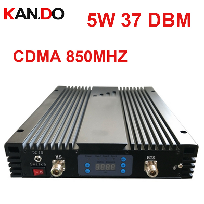 5w 37DBM 85dbi Cdma Repeater AGC/MGC CDMA 800MHz Signal Booster CDMA 850MHZ BOOSTER Repeater No Interfer To Base Station