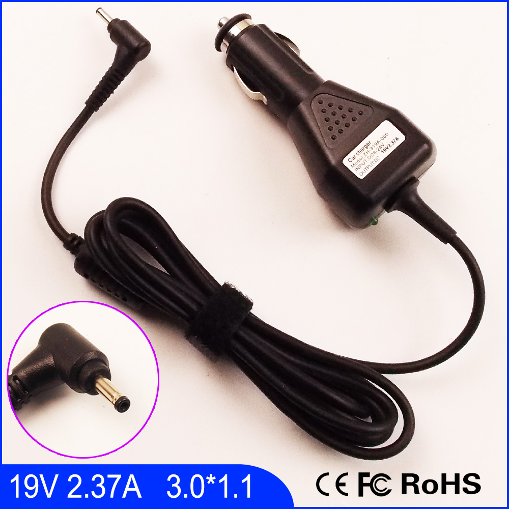 19V 2.37A Laptop Car DC Adapter Charger For Acer Spin 3 SP315-51,Spin 5 SP513-51 SF514-51,Swift 1 SF114-31,Swift 3 SF314-51 адаптер ноутбука avanshare 19v 7 9a ac 120w 5 5 1 7 acer for acer