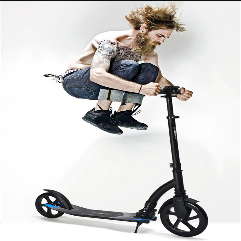 adult children kick scooter Foldable PU 2wheels bodybuilding all aluminum shock absorption urban campus transportation adult s scooter foldable pu 2wheels baby outdoor sport bodybuilding all aluminum campus city transportation