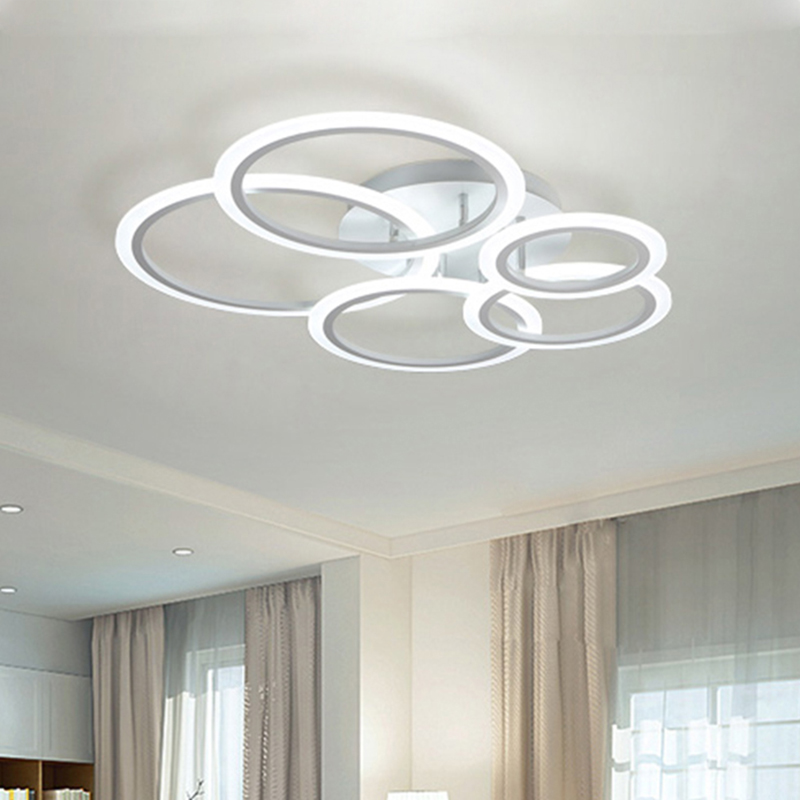 Modern led Ceiling Lights for parlor lampada led bedroom Donuts encounter LED strips indoor lighting ceiling lamp acrylic shade modern led acrylic ceiling lights for parlor lampada led hotel hall led strip acrylic led strip indoor lighting luz de techo