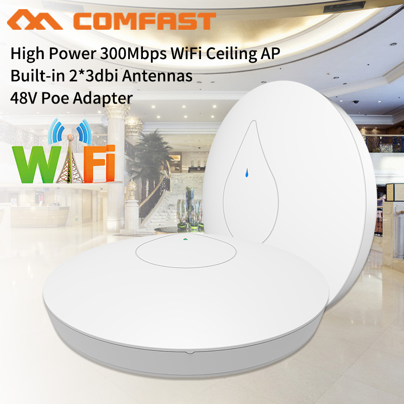 2pcs Comfast CF-E350N 27dBm High Power Home Wifi Repeater 2.4GHz 300Mbps Wireless Wifi Router AP Extender Bridge nano station comfast cf e325n ceiling ap 300mbps wifi router wireless repeater