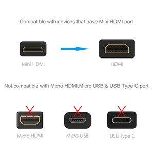Image 3 - Mini câble HDMI vers HDMI haute vitesse 1m 2m 3m mâle vers mâle 1.4V 1080P pour caméscope MP4 Mini câble HDMI