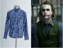 New Arrival Custom Made Dark Knight Joker Hexagon Shirt Cosplay Costume
