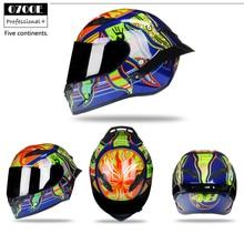 DOT approved Full Face Motorcycle Helmet Racing Helmet K3 K5 Motocross Off Road Helmet Casco De Moto Capacete kask