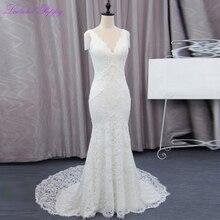 LCELAND POPPY Wedding Dresses Sleeveless Floor Length