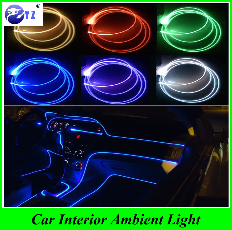 4meter car styling car interior ambient light panel illumination car inside refit light optic. Black Bedroom Furniture Sets. Home Design Ideas