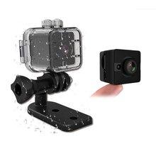 SQ12 SQ11 À Prova D' Água Mini Câmera Nova Versão Full HD 1080 P Mini DVR Filmadora Night Vision Sensor de Movimento Câmera TV Out Espion