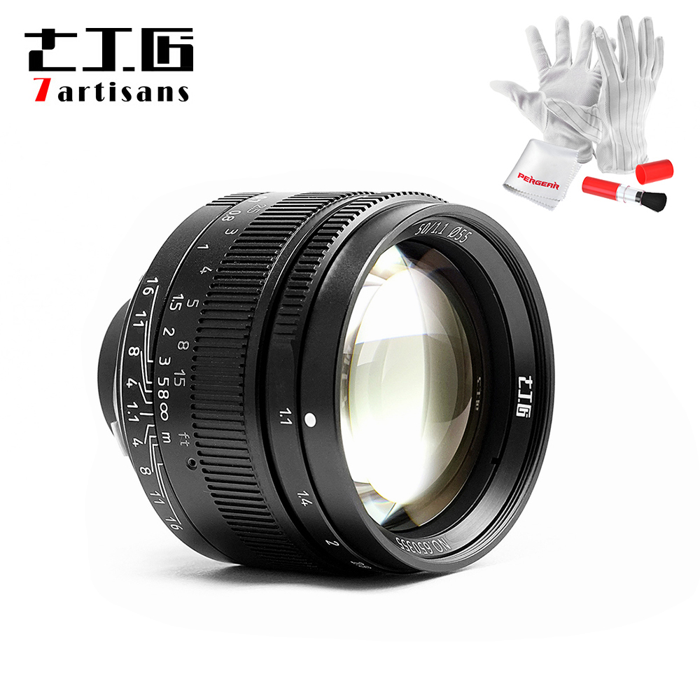7artisans 50mm F1.1 M Mount Fixed Lens for Leica M-Mount Cameras M-M M240 M3 M6 M7 M8 M9 M10 leica m