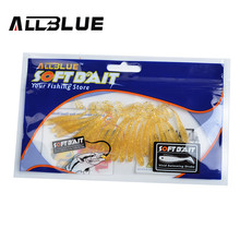 ALLBLUE Classic Flexible Soft Lures 5cm /0.55g 20pcs/lot Swimbaits Artificial Bait Silicone Lure Fishing Tackle Fishing Lures