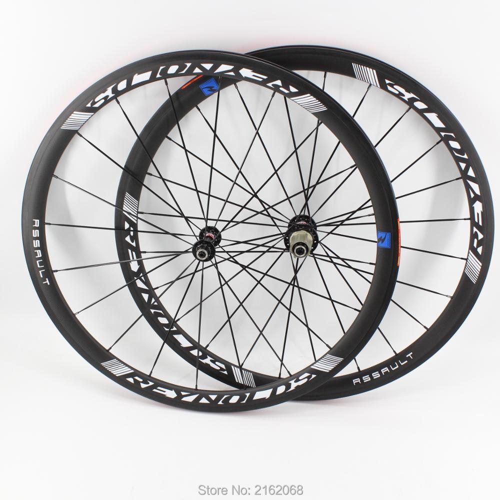 Bleu Neuf 700C 38mm Route vélo mat 3 k pleine fiber de carbone vélo pneu jante carbone basalte 23 25mm largeur bateau Libre