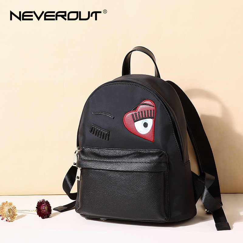 e9f27791cb NEVEROUT Women Small Backpack Canvas Backpacks Travel Bags Female Casual  Solid Zipper Bags Style Lady Backpack