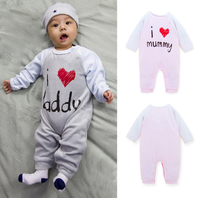 16db18c0d60e 0-18M Spring Coral velvet Baby Rompers Cute baby romper mummy newborn baby  girl clothes Jumpsuit baby costume Free shipping