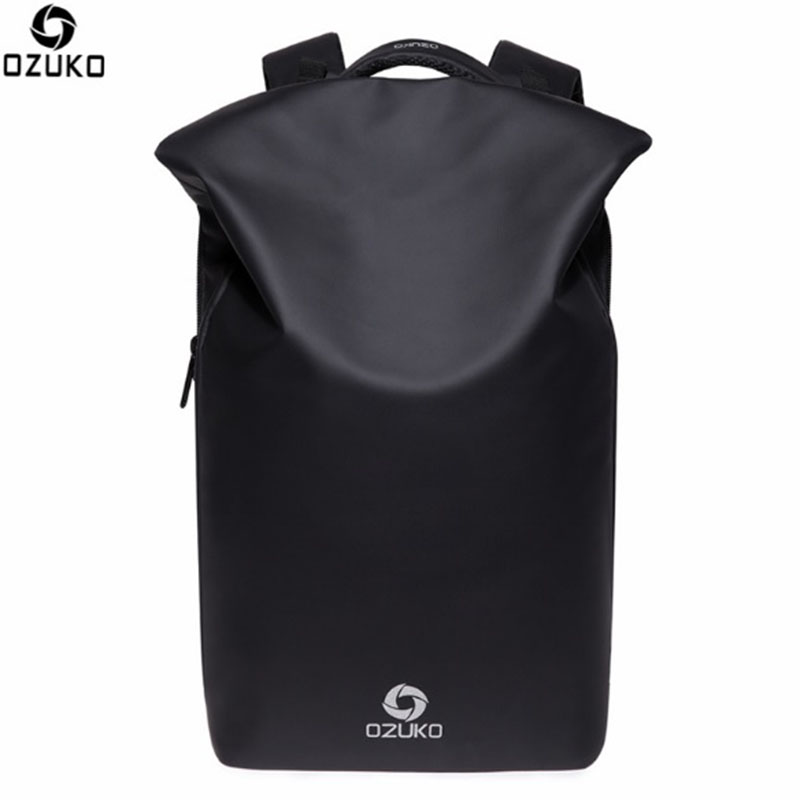 OZUKO Men Backpacks New Design Waterproof Anti-Theft USB Charge Large Travel Bag 15.6 Laptop Backpack School Bags For Teenagers sopamey usb charge men anti theft travel backpack 16 inch laptop backpacks for male waterproof school backpacks bags wholesale