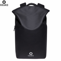 OZUKO Men Backpacks New Design Waterproof Anti Theft USB Charge Large Travel Bag 15 6 Laptop