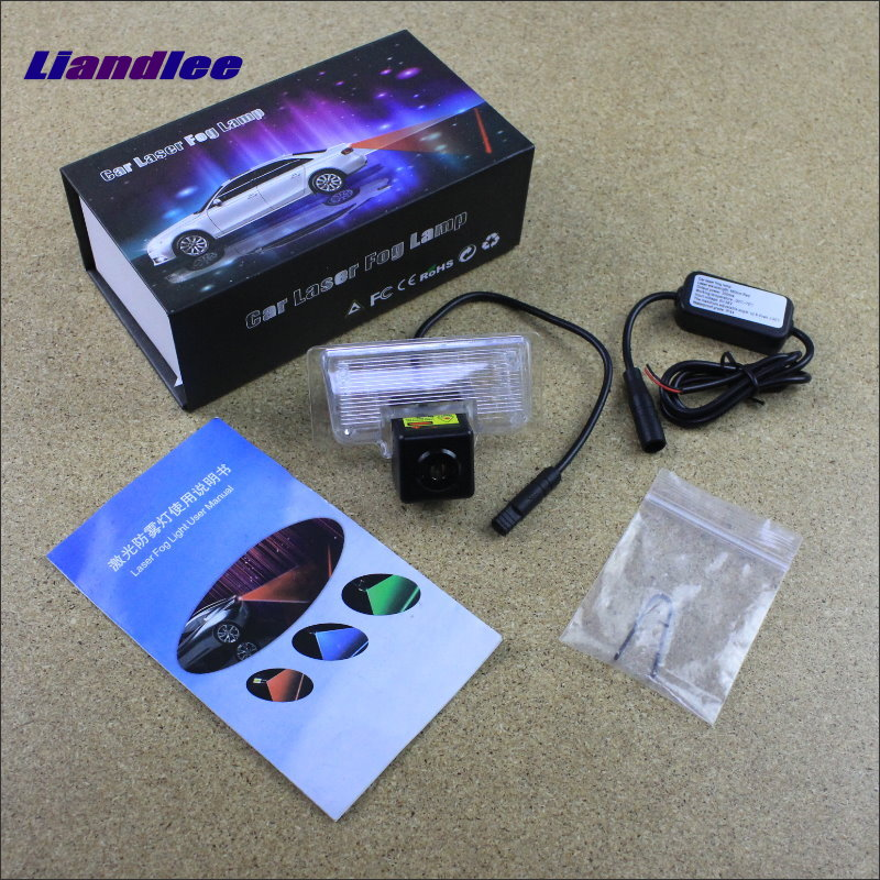 Liandlee For Nissan Sentra / Versa Note 2014~2016 Car Tracing Cauda Laser Lights Avoidance Warning Light Fog lamps Safe Drive