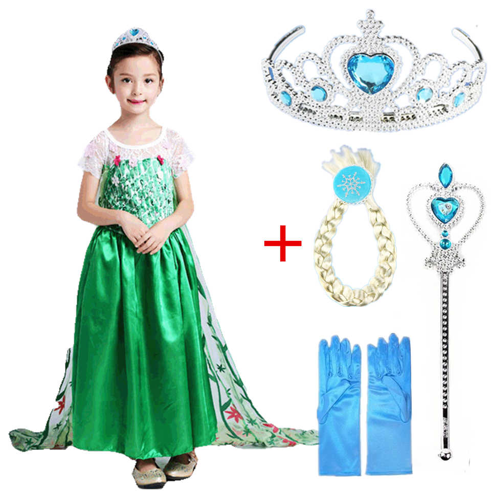 1fc15e8af Vestido congelado de Disney niños elsa chica tutú Culottes Leggings ...